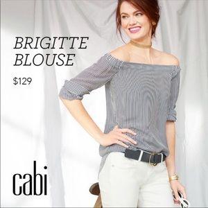 CAbi off shoulder Brigitte blouse